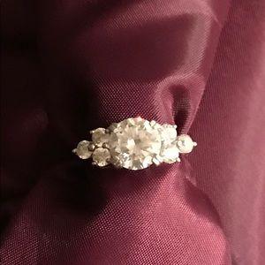 Ladies Diamonique Ring